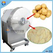 电动不锈钢大型山药木薯土豆地瓜薯香蕉切片机