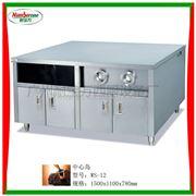 WS-12中心岛,分杯器,薯条柜/工作台汉堡包机