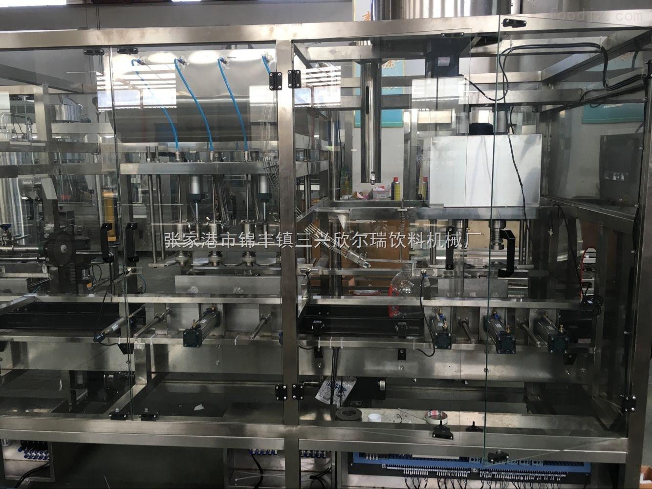 直线式大瓶水灌装机生产线
