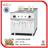 GH-988立式燃气煮面炉连柜座/煮面条