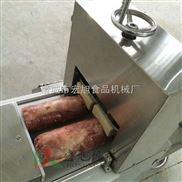 专业供应多功能冻肉切片机商用智能切卷机 猪肉全自动肉类切片机