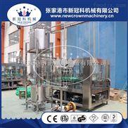 张家港专业生产果汁饮料机械厂家1L大玻璃瓶三旋盖果汁饮料灌装机