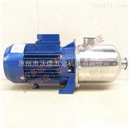 不锈钢多级增压泵DW2-20/037食品泵