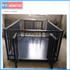 养殖场猪笼电子秤 2吨带围栏电子地磅