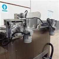 豆腐丝专用大型油炸机厂家供货鱼豆腐设备