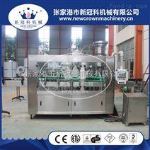 厂家供应高速果蔬饮料灌装机玻璃瓶三旋盖三合一灌装机