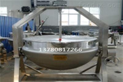 300L熬粥用不锈钢可倾电加热炒锅