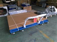 手推移动式电子平台秤 2吨带轮子移动地磅