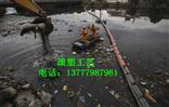 河道生活垃圾围栏排浮筒 方便工人打捞