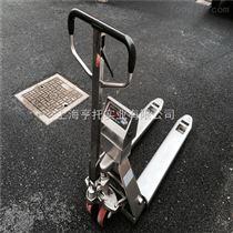 DCS-HT-F304不锈钢材质叉车秤 北京2T防水电子液压秤