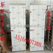 菏泽定做大型馒头蒸箱生产厂家 72盘双门蒸饭柜 出售菏泽花卷蒸车蒸饭箱