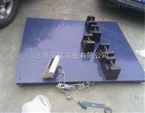 DCS-HT-A23P上海1吨带打印电子地磅厂家 嘉定2T打印小票电子磅秤