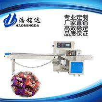 水果软糖包装机-糖果包装机厂家-佛山浩铭达包装机械
