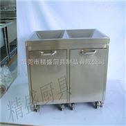 酒店专用餐具回收车 商用厨房设备 东莞酒店厨具制品公司