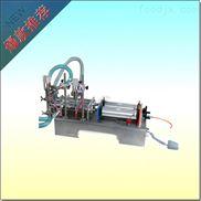 液体半自动灌装机_台式灌装液体双头气动机