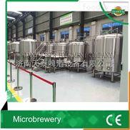 500-5000l中型啤酒设备