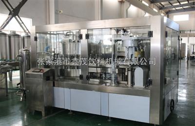 gf12-4易拉罐灌装饮料生产线