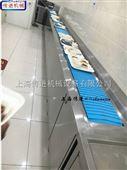 餐盘回收输送机江浙沪厨房餐厅输送带,传进牌收餐盘输送机