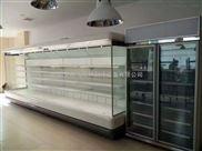 柳州定做三洋超市风幕柜水果保鲜柜