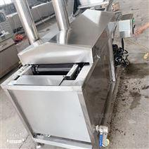 湖北專供全自動帶攪拌豆腐格油炸機溫度可控