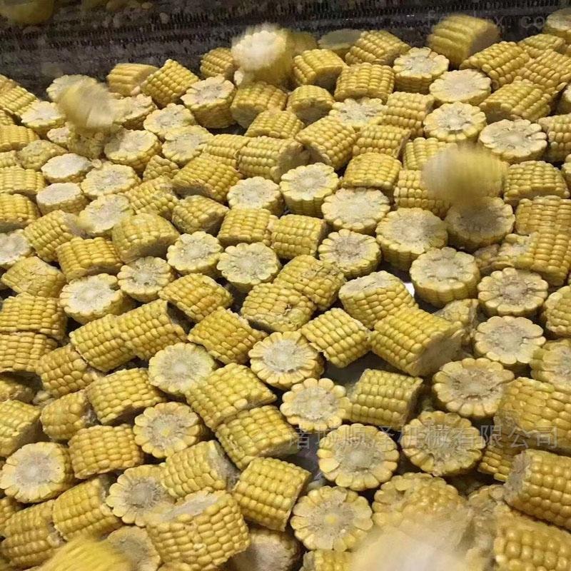甜玉米带皮速冻玉米切段机 大小可调