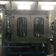 CGF8-8-3不锈钢材质全自动纯净水生产线三合一灌装机