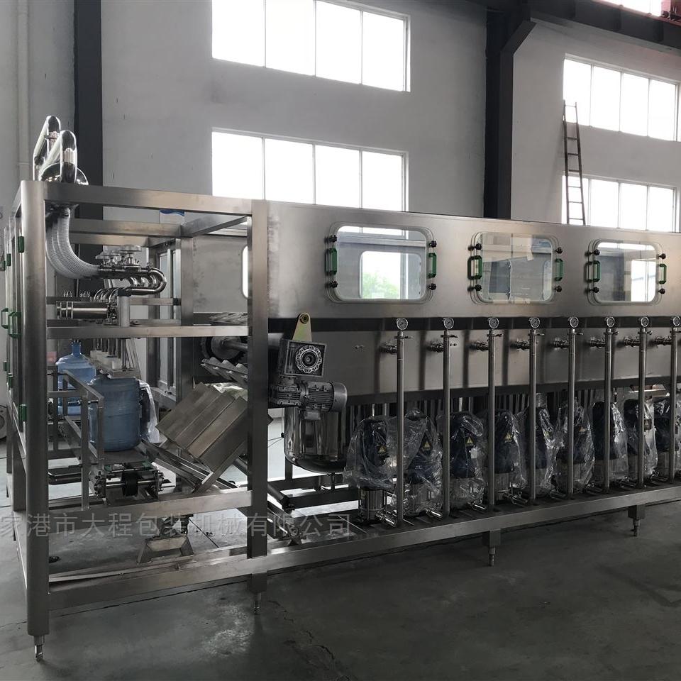 QGF-600-饮料加工设备5加仑桶装水灌装生产线