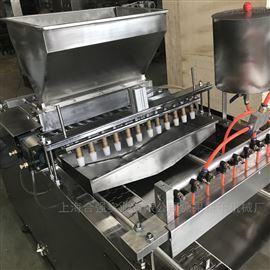 HQ-DG600上海合强蛋糕注浆设备 蛋黄派注芯生产线