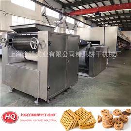上海合强HQ-600型全自动酥性饼干生产线( 燃气/电力)