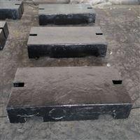 宁波1吨平板型铸铁砝码 2000kg配重砝码
