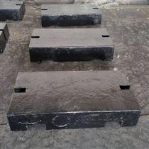 HT-FM宁波1吨平板型铸铁砝码 2000kg配重砝码