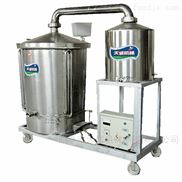 2020家用釀酒設備小型雙層鍋蒸汽蒸酒機