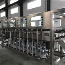 QGF-4505加仑矿泉水纯净水灌装机桶装水生产线