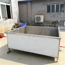 供應不銹鋼豬浸燙池質量好屠宰加工機械設備