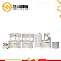 盛合大型豆腐机不锈钢材质自动化