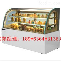 無錫浩博大理石弧形蛋糕柜廠家直銷設備