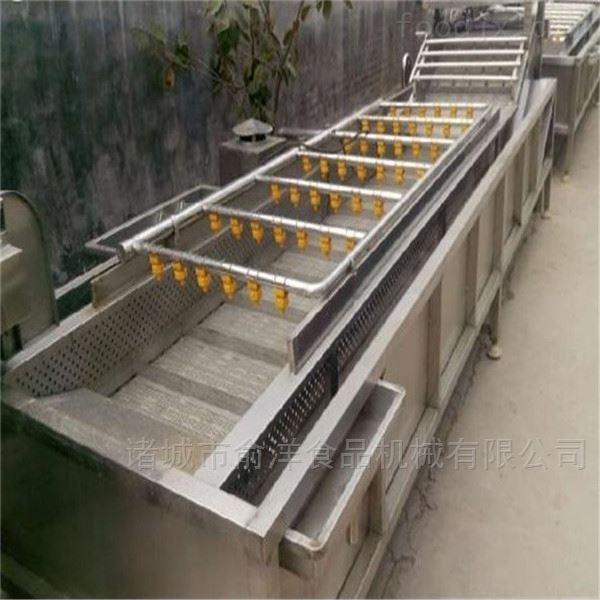 厂家供应全自动橙子高压喷淋气泡清洗机