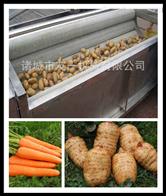 净菜加工设备~小型全自动毛辊清洗机