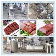 供應豬血生產加工設備鴨血高溫殺菌鍋