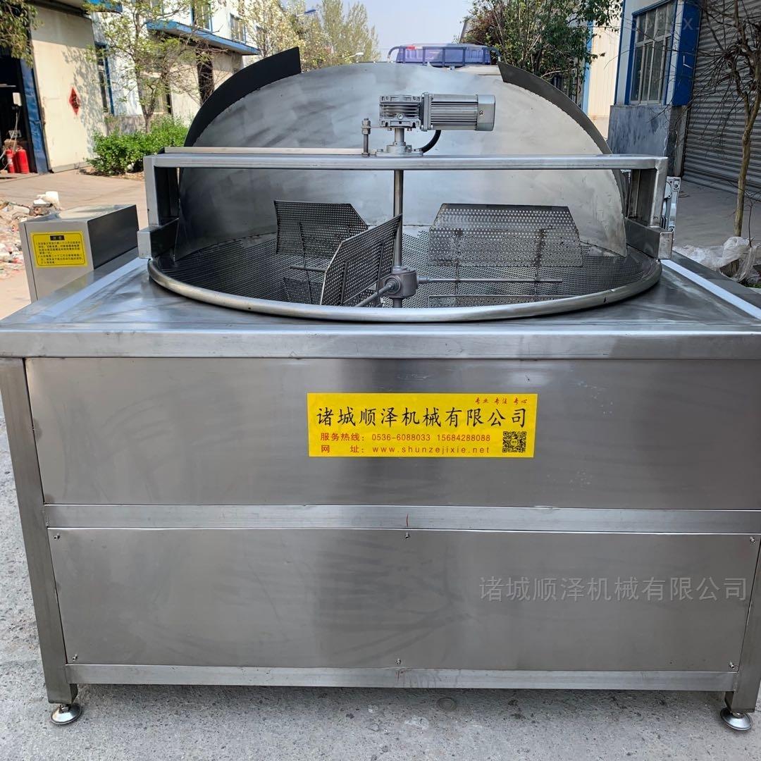 环保型食品自动油炸机