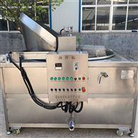 SZ1000连续式蛋酥油炸机 全自动虎皮鸡蛋油炸设备