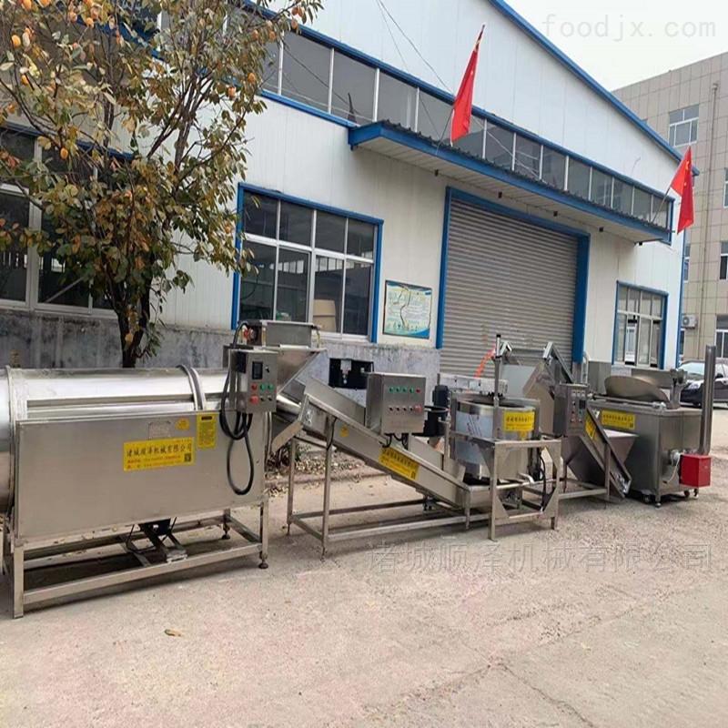 厂家热销环保型半自动薯条生产流水线