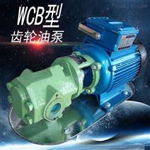 WCB系列齿轮油泵手提式电动抽油泵