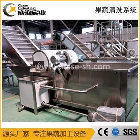 CXP-QX-GP果蔬清洗输送系统 鼓泡清洗机