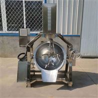 200L小型杀菌设备燃气半自动行星炒锅
