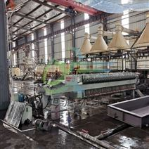 工业板框厢式压滤机滤布洗沙场压泥污水