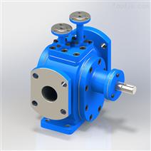 保温齿轮泵 高温输送沥青泵