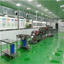 蔬菜保鲜前处理生产线