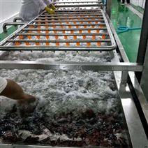 小龙虾清洗流水线