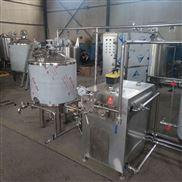 全自动小型酸奶机器 酸牛奶低温杀菌设备